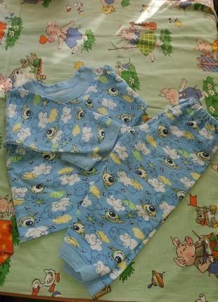 Пижама теплая баевая