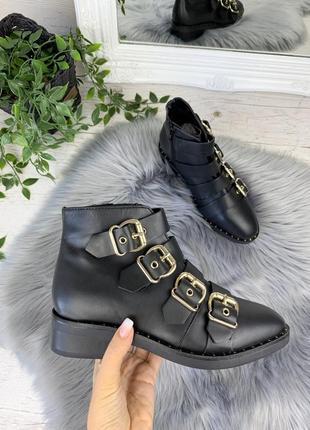 Ботинки asos, индия натуральная кожа