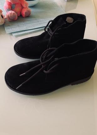 Ботинки испанские автоледи black spain