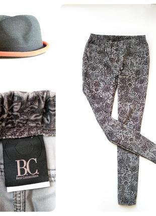 Вельветовые брюки джоггеры bc collection