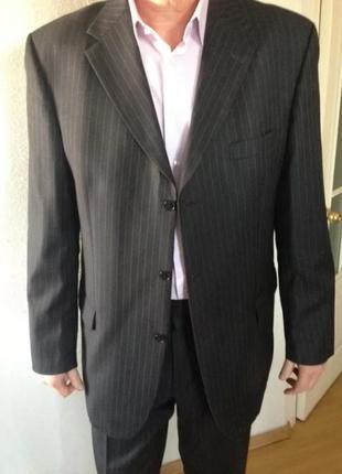 Статусный шерстяной костюм roy robson