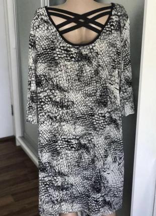 Платье большого размера ⭐️хл3 фото