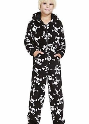 Marks&spenser кигуруми с черепами 13-14 лет пижама человечек