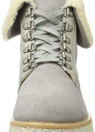 Шикарные зимние ботинки marco tozzi 38-38,5 (25 см)