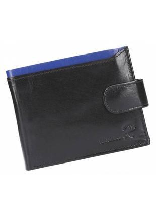 Мужской кожаный кошелек ronaldo n992l-vt rfid