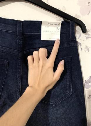 Американские джинсы с лампасами francesca's3 фото