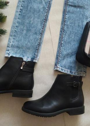 Ботинки на войлоке