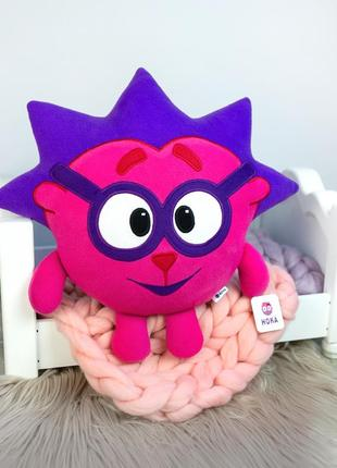 Мягкая игрушка - подушка ёжик смешарики.