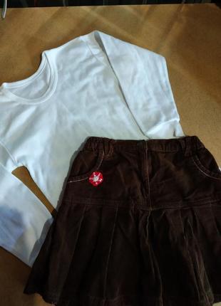 Кофта и юбка на девочку.