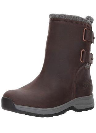 Зимние кожаные ботинки woolrich 40р оригинал timberland1 фото