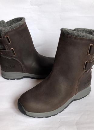 Зимние кожаные ботинки woolrich 40р оригинал timberland5 фото
