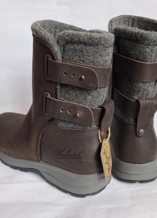 Зимние кожаные ботинки woolrich 40р оригинал timberland2 фото
