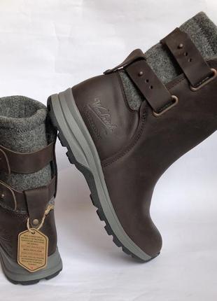 Зимние кожаные ботинки woolrich 40р оригинал timberland4 фото