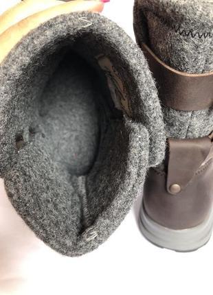 Зимние кожаные ботинки woolrich 40р оригинал timberland3 фото