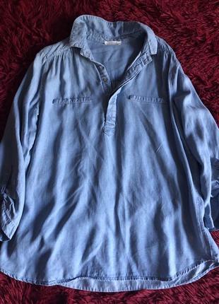 Джинсовая рубашка promod2 фото
