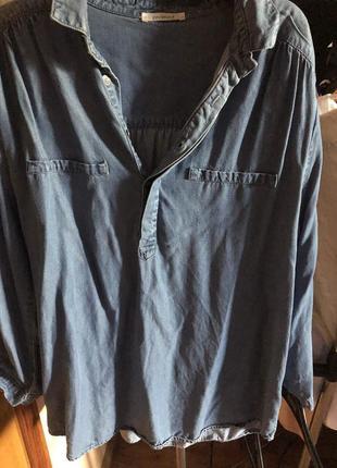 Джинсовая рубашка promod4 фото
