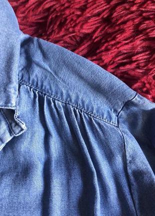 Джинсовая рубашка promod5 фото