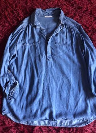 Джинсовая рубашка promod3 фото