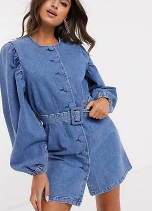 Платье джинс от asos( срочно)