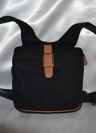 Джинсовая мужская сумка amori bag