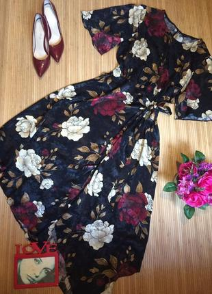 Красивое ассиметричное платье,размер xxl