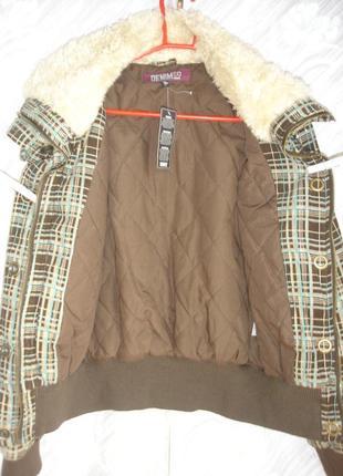 """Демисезонная вельветова куртка"""" denim co"""" madrid5 фото"""