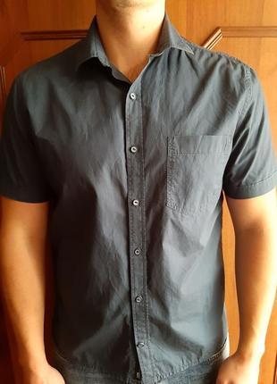 Рубашка ostin с коротким рукавом