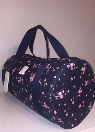 Спортивная новая сумка jack will, 100% coton