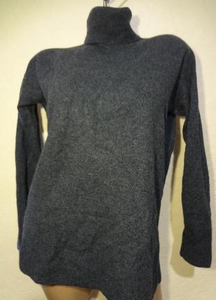 Кашемировый свитер под шею h&m размер м