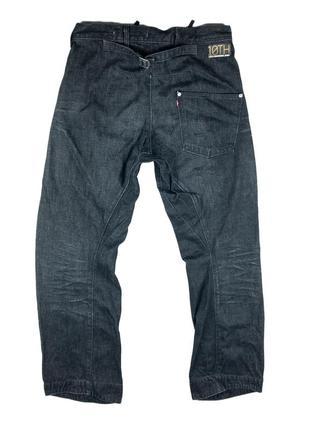 Оригинальные джинсы levi's engineered twisted black denim jeans