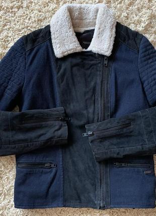 Куртка, дубленка,пуховик оригинал maison scotch пуховик diesel