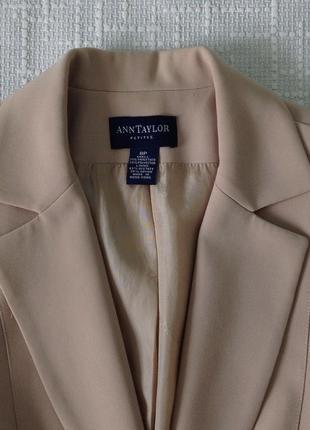 Жакет/пиджак ann taylor p.m(38-40)3 фото