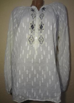 Блуза с элементом вышивки josephine&co размер l