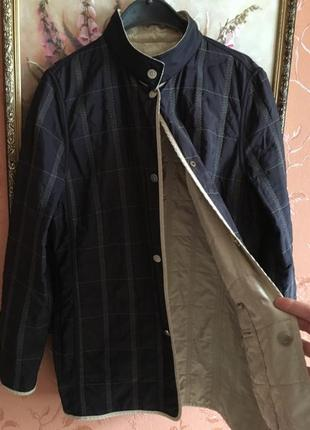 Куртка basler бренд,германия, двухсторонняя.