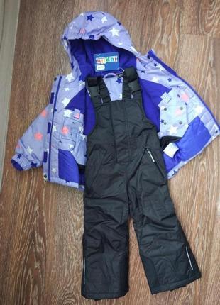 Термокостюм курточка и штаны lupilu