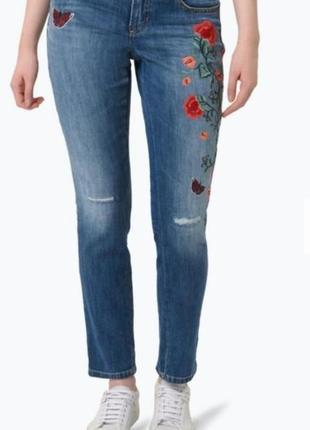 Джинсы с вышивкой от cambio  jeans2 фото
