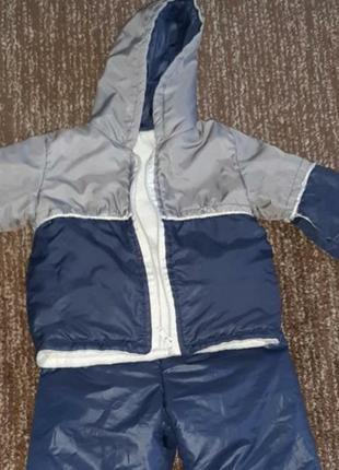 Sale🔥🔥 теплый костюм на мальчика куртка+штаны 1-2года
