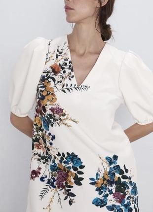 Платье новая коллекция zara