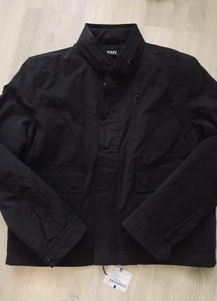 Куртка новая dkny мужская чёрная