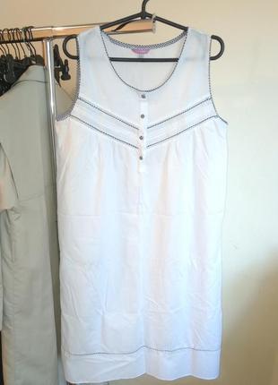 Платье рубашка домашняя одежда ночная ночнушка сарафан пляжное банное