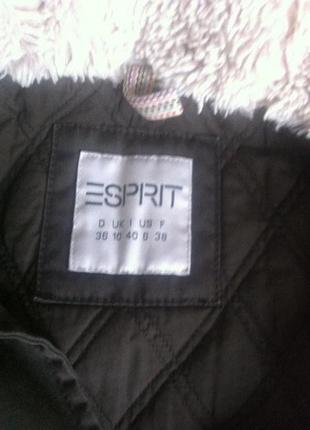 Брендове пальто-парка від esprit