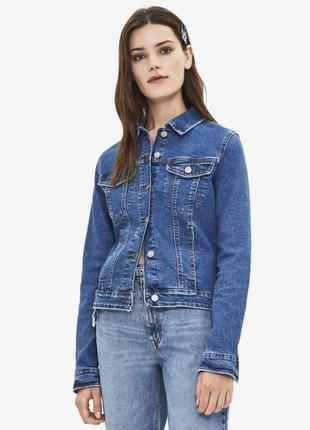 Куртка джинсовка bershka