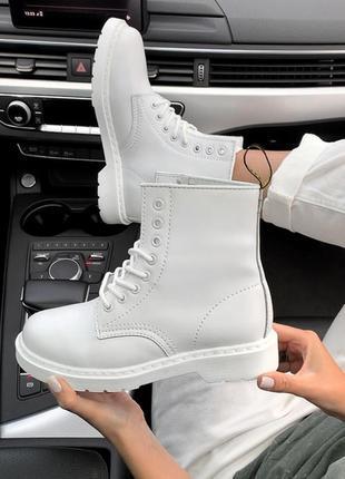 Шикарные женские ботинки dr.martens patent platform