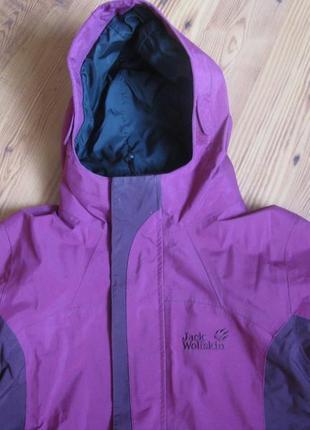 Куртка  jack wolfskin 8-10 лет