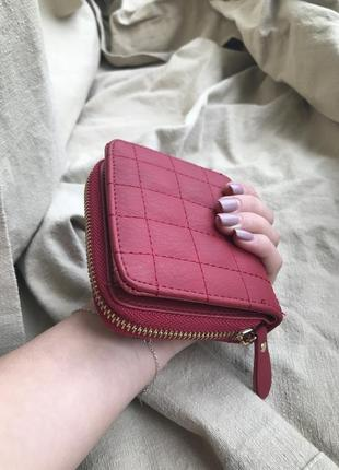 Новий червоний гаманець, новый красный кошелек