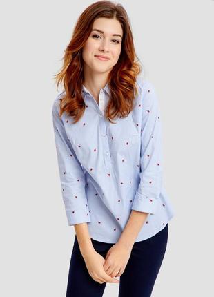 Женская блузка рубашка с принтом