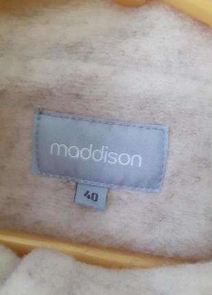 Кремовое пальто от maddison3 фото