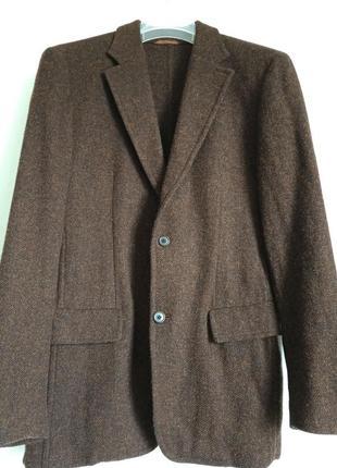 Теплый пиджак hugo boss (оригинал)