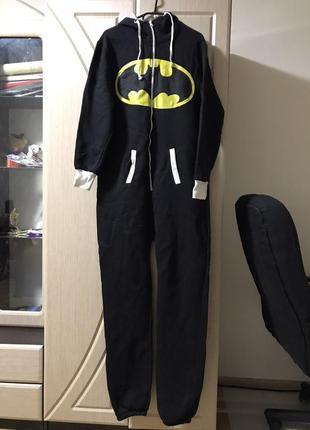 Теплый комбинезон бэтмен