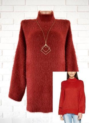 Очень крутой свитер оверсайз с широкими рукавами new look uk 18 новый